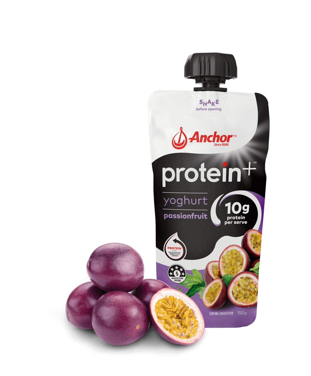 Anchor Protein+ Passionfruit Yoghurt 150g