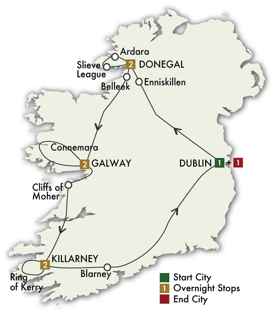 2022 Irish Explorer - 9 Days/8 Nights