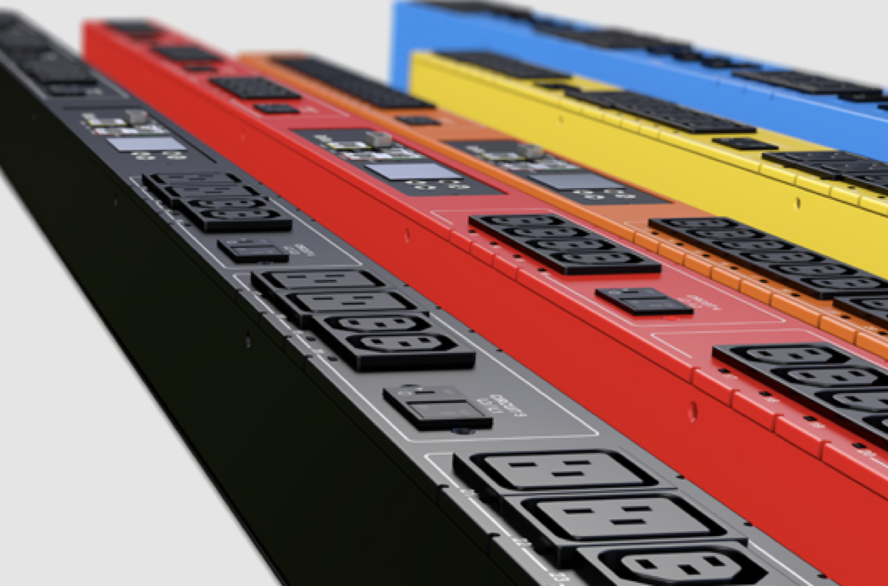 Raritan PDUs in different color options