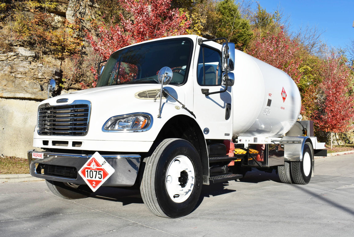 National Butane Gas 3000 Bulk Propane Delivery on 2010 Freightliner M2106 4x2