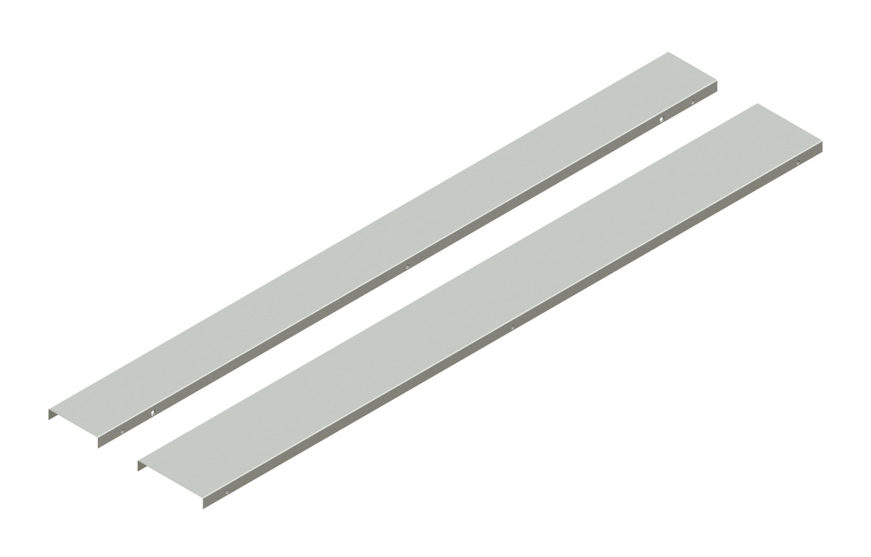 Cable Channel Tray Straight Sections Covers