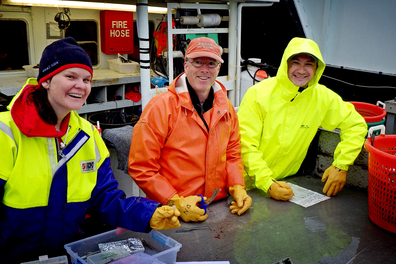 Easter Bering Sea Survey Team