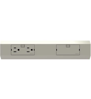 Modular Track For Direct Wire Power Strips From The Adorne