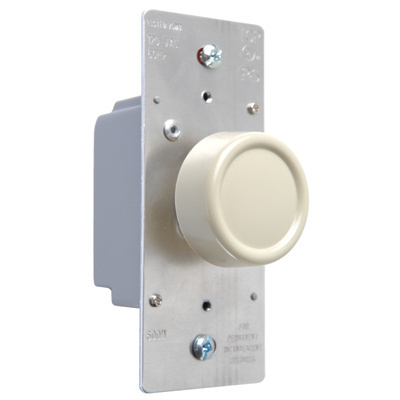 Rotary R Series 600W Incandescent RFI Dimmers Preset Three-Way Ivory
