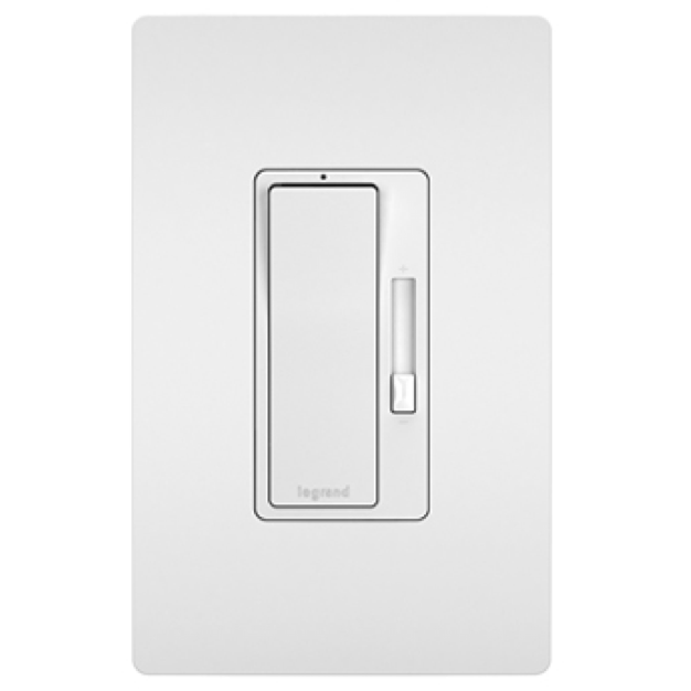radiant dimmers in white from Legrand