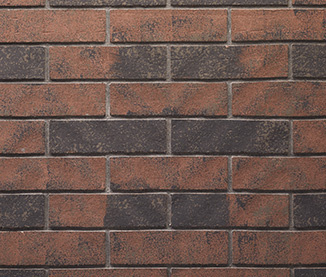 Traditional Stacked Brick - Multitonal Brown