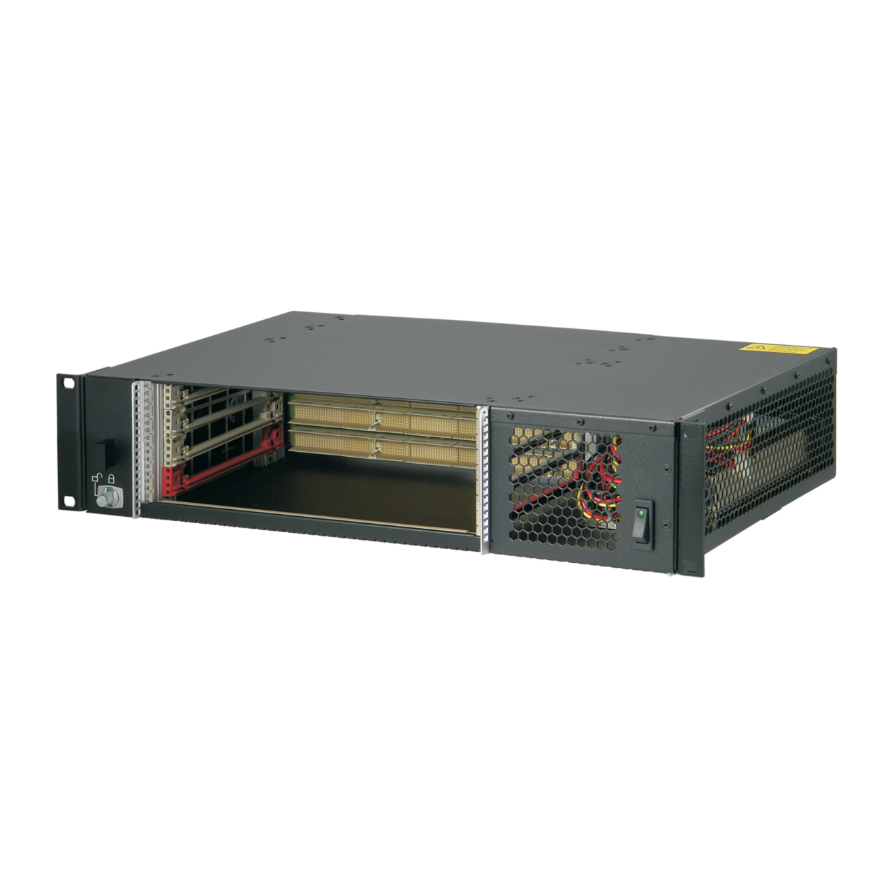 Image for CompactPCI 2 U, 4 slot, with rear I/O and ATX power supply from nVent SCHROFF | Europe, Middle East, Africa and India