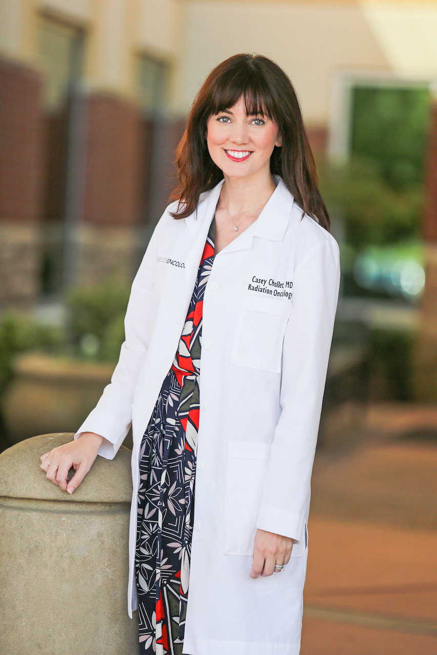 Dr. Casey Chollet, doctor of radiation oncology at TriStar Health and today's FACE of TriStar