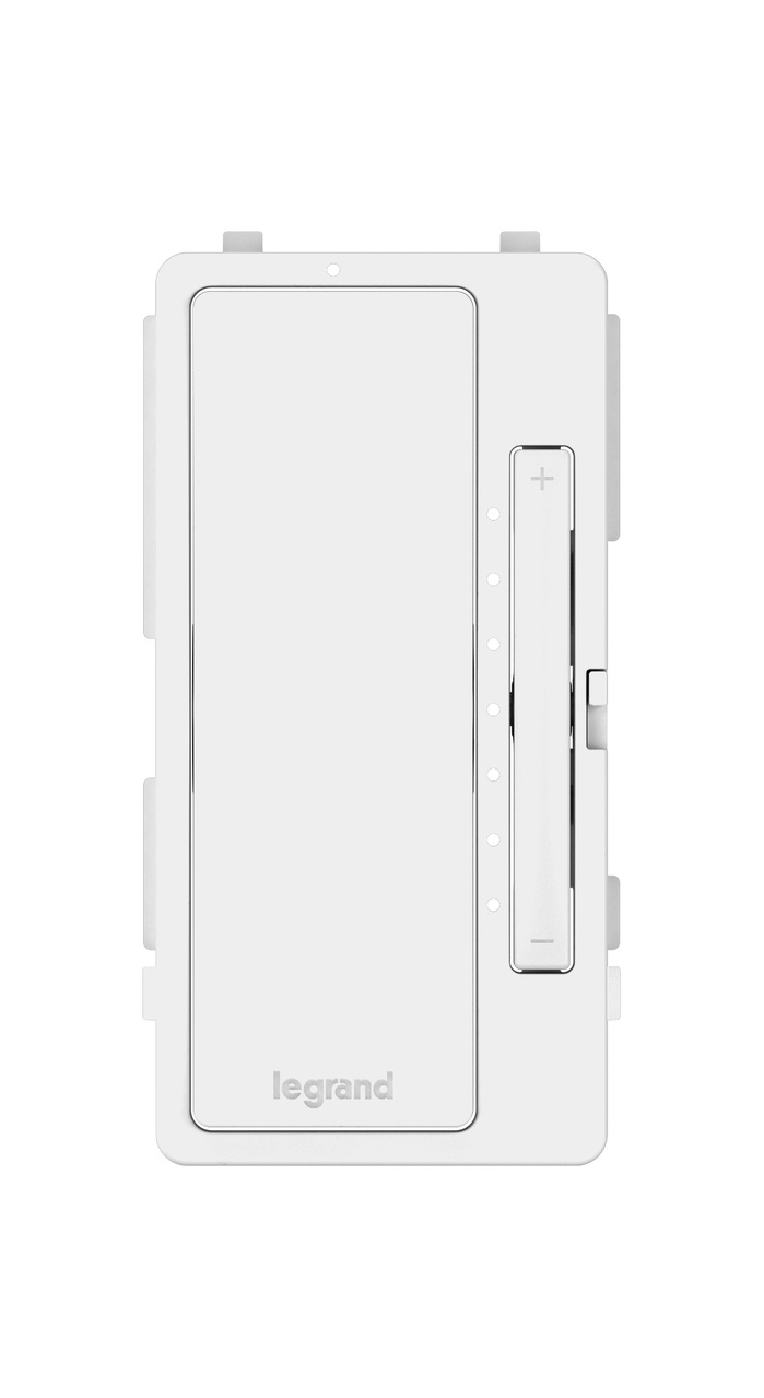 Interchangeable Face Cover for Multi-Location Master Dimmer, White