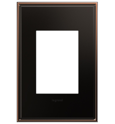adorne 1-Gang+ Oil Rubbed Bronze Wall Plate