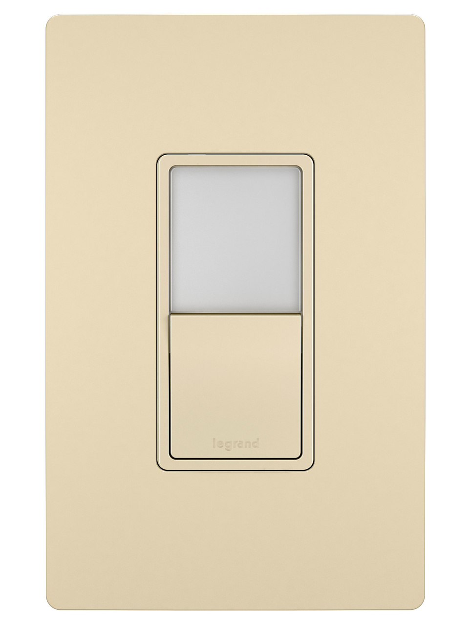Night Light with Single-Pole, 3-Way Switch, Ivory