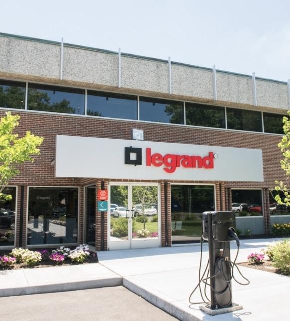 Entrance of Legrand HQ