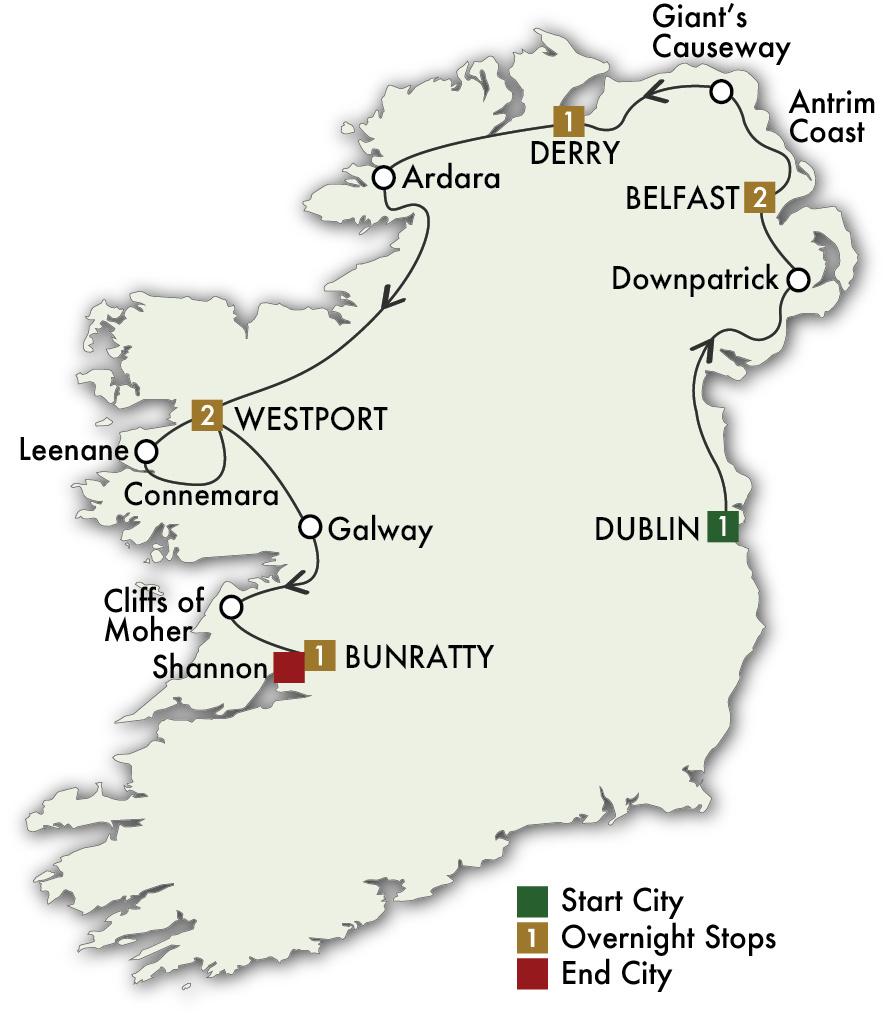 2022 Mystical Ireland - 8 Days/7 Nights