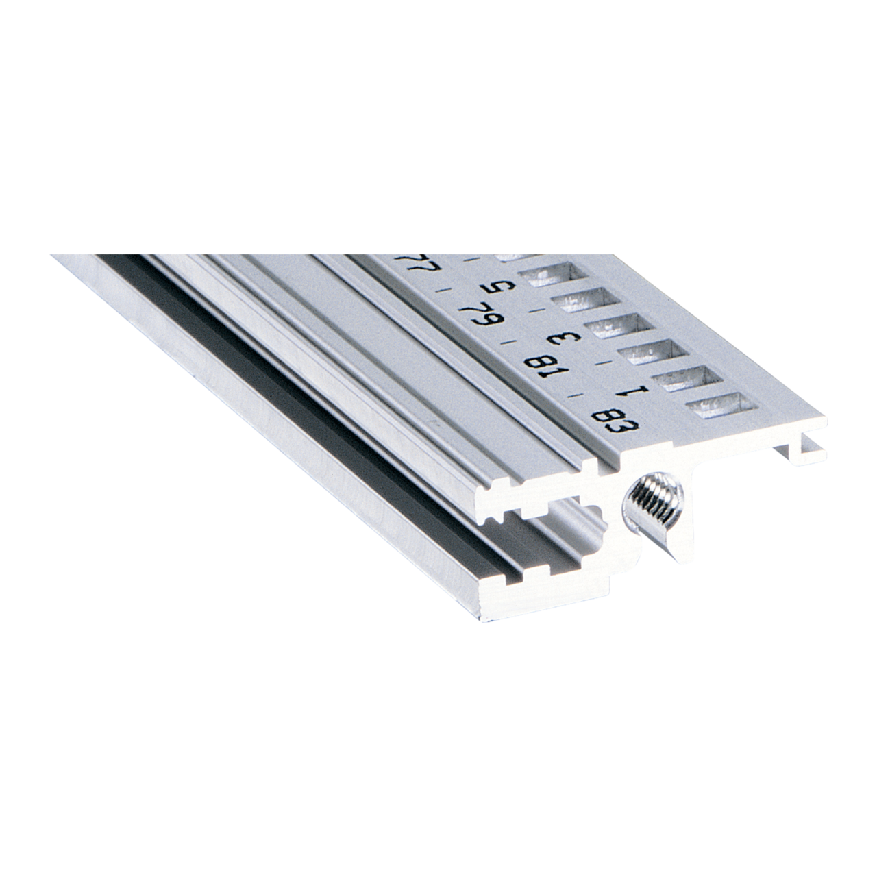 Imagen para Horizontal rail, front, type L-OD light, without lip de Schroff - Norteamérica