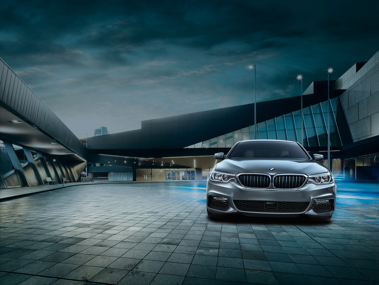 New BMW 5 Series at BMW Northwest in Tacoma