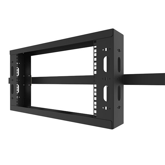O-Series Overhead Rack - Black