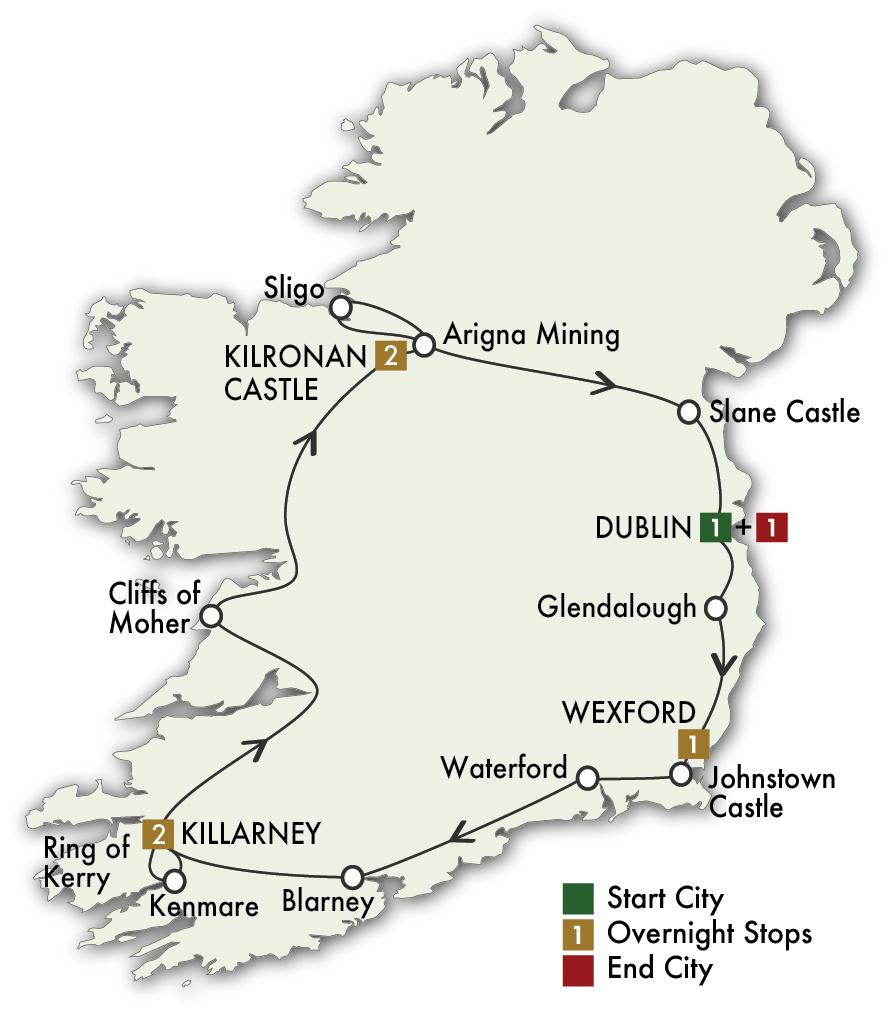 2022 Irish Spirit- 8 Days/7 Nights