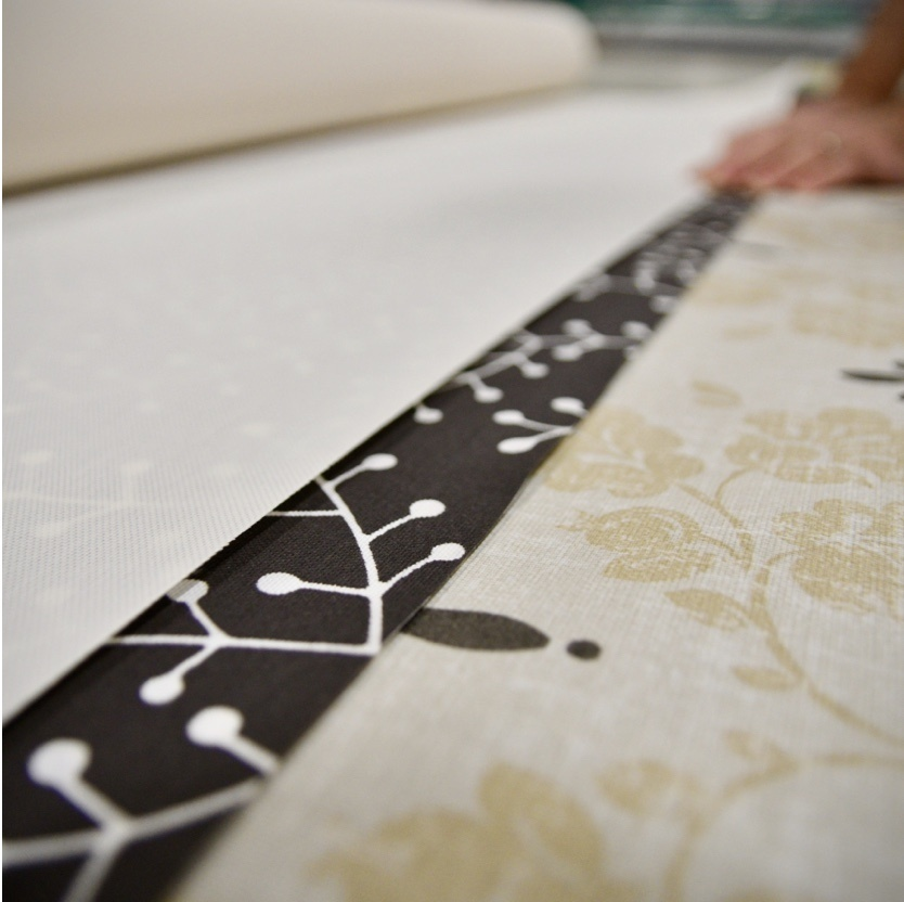 Printed patterns of shading fabric