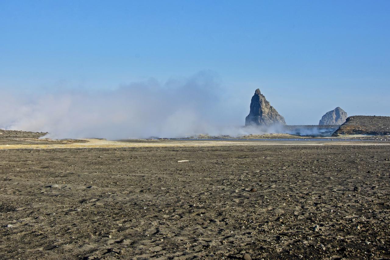 Bogoslof Island.