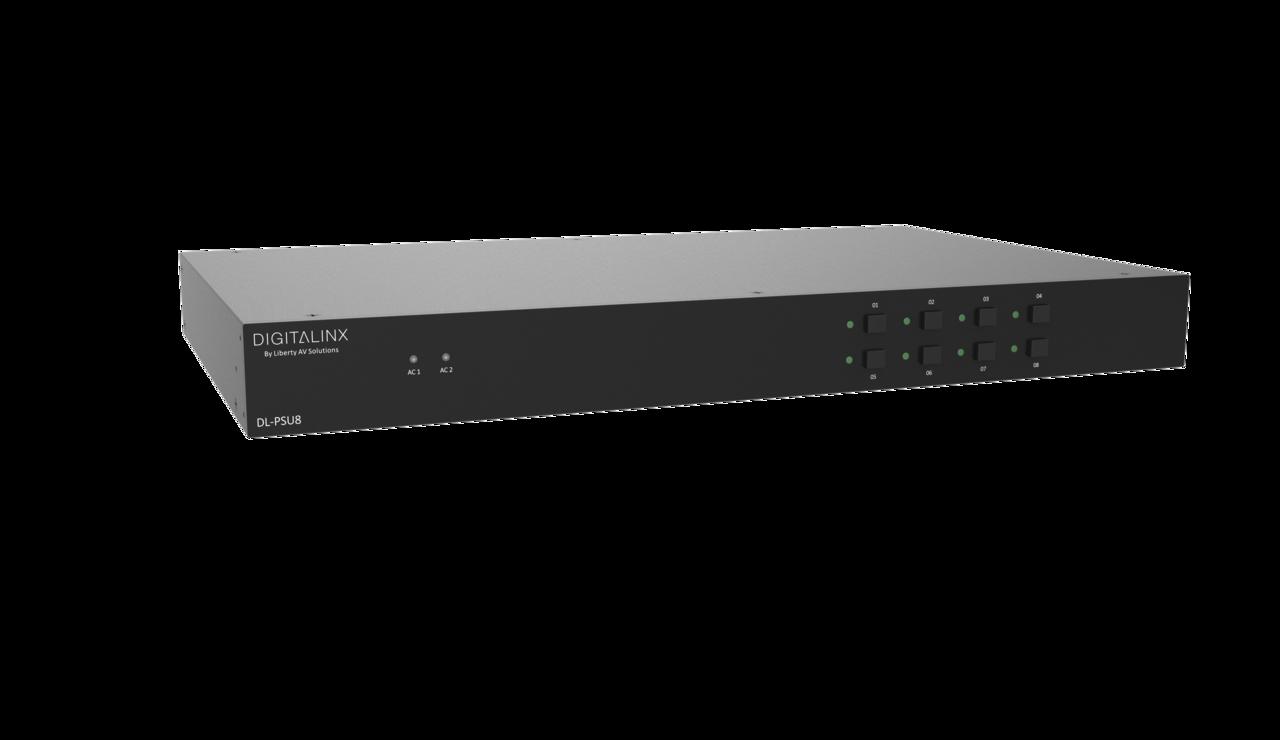 DL-PSU8 - Digitalinx 8 Output Multi-Use Rack Mount Power Supply