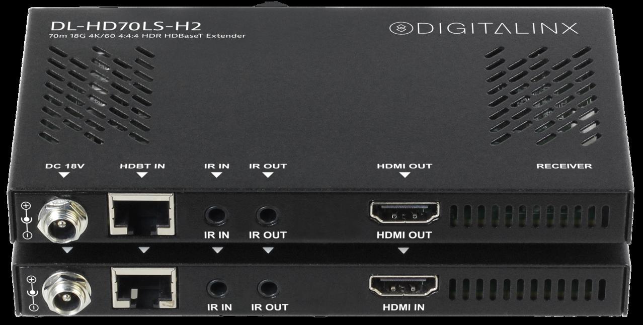 DL-HD70LS-H2 - Digitalinx HDMI 2.0 HDBaseT Extension Set