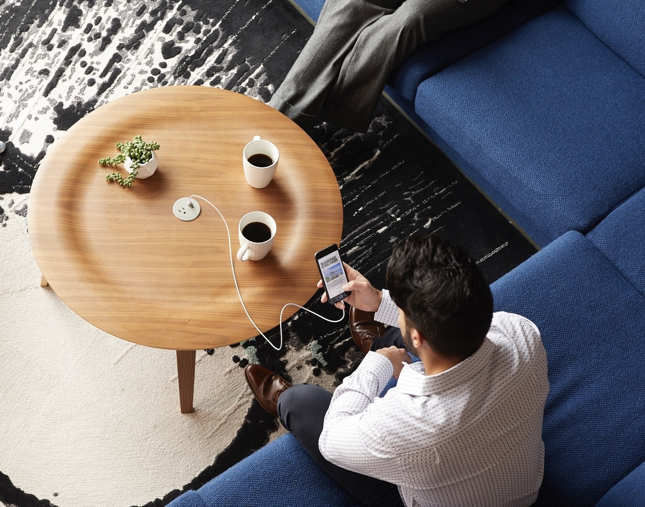Power and charging solutions for hotel furniture