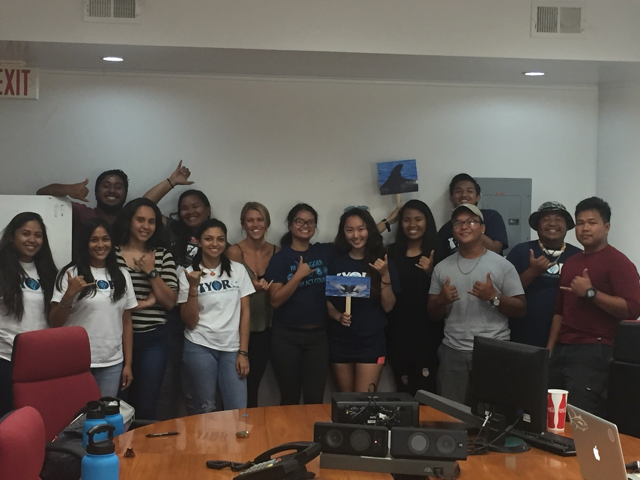 The 2018 Coral Reef Initiative Internship Team