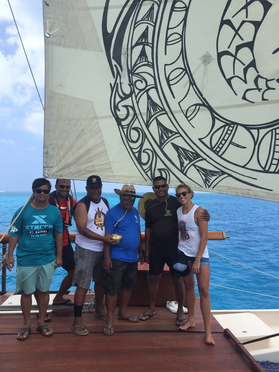 The Okeanos Marianas crew