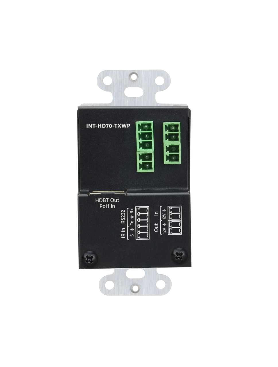 INT-HD70-TXWP - Intelix HDMI HDBaseT Wall Plate Transmitter