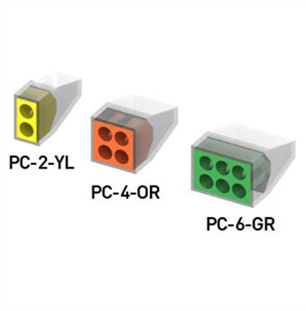 FAS Power Pushwire Connectors, PC
