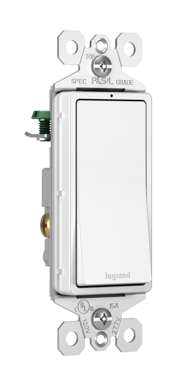 Wiring A Legrand Switch Just Another Diagram Blog 3 Way Single Pole Radiant 15a Lighted White Rh Us Install