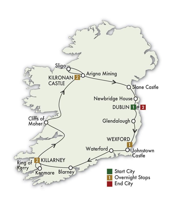 2021 Irish Spirit - 9 Days/8 Nights
