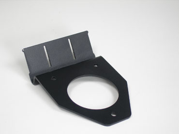 Top mount cable retention bracket for 1U cabinet only, OR-FCBR-001