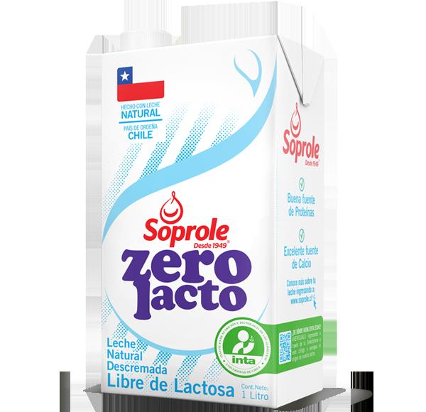 Soprole Zerolacto Leche Descremada 1L