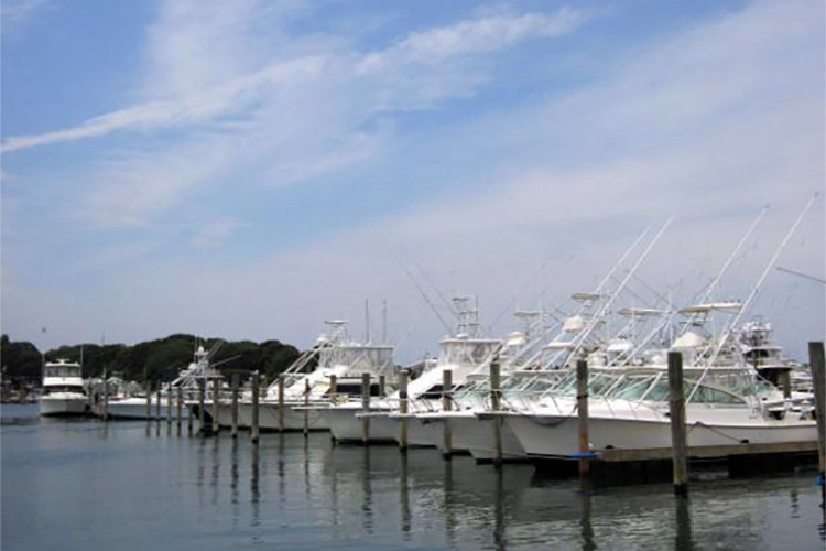 Recreational fishing boats