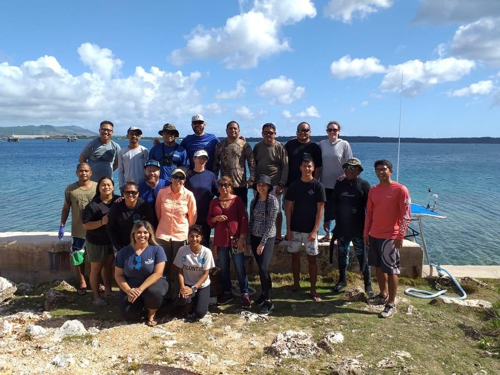 Marianas turtle team.