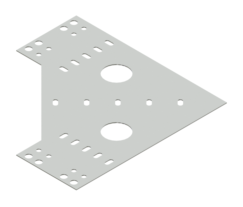 Cable Channel Tray Horizontal 90° Connector