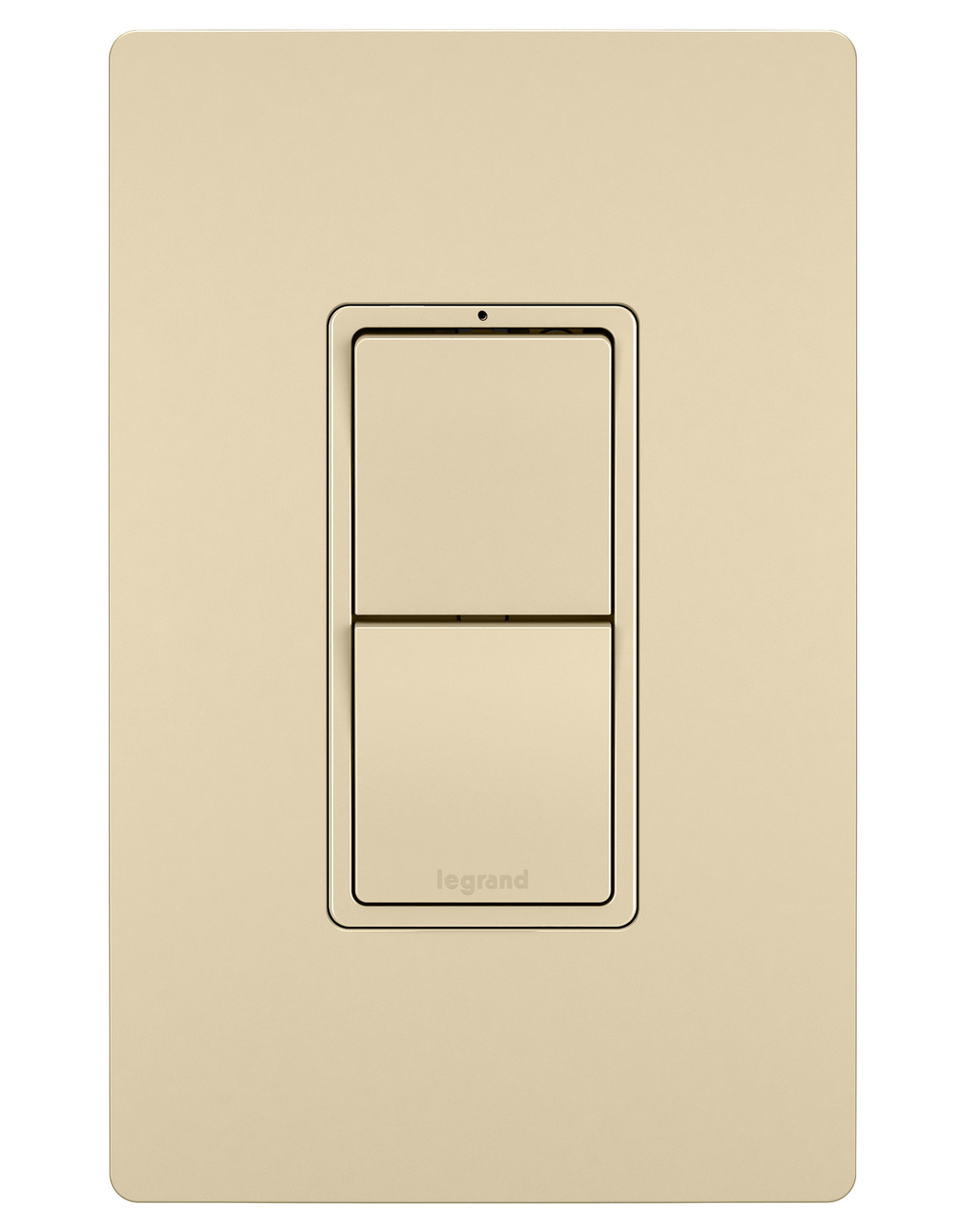 Two Single Pole/3-Way Switches, Ivory