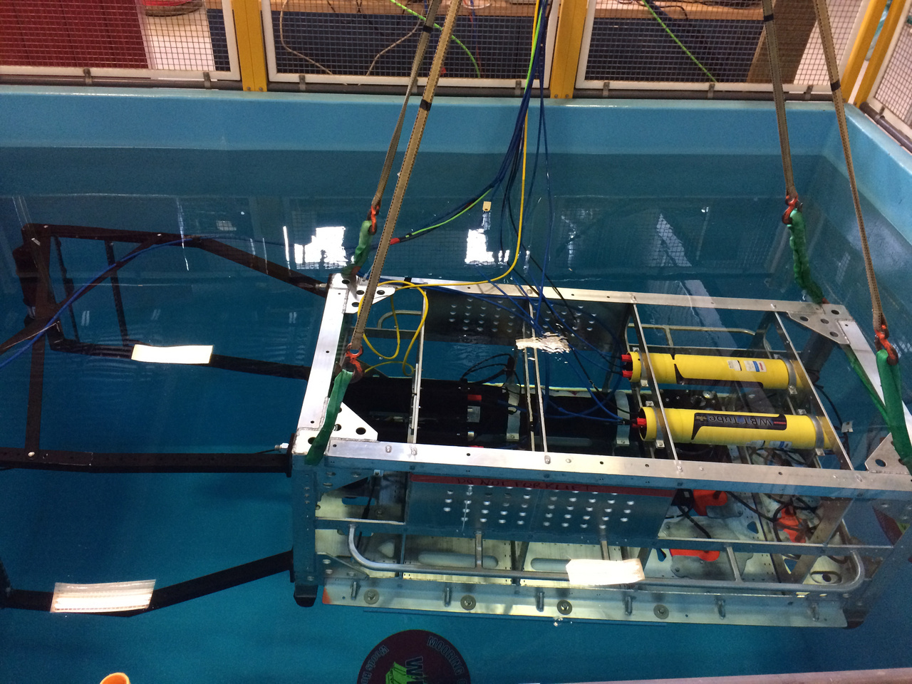Deep-See sampling system in test tank