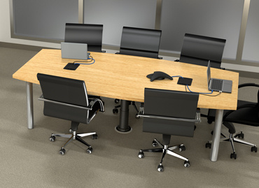Legrand Launches Integrated Cable Management Legrand - Conference room table cable management