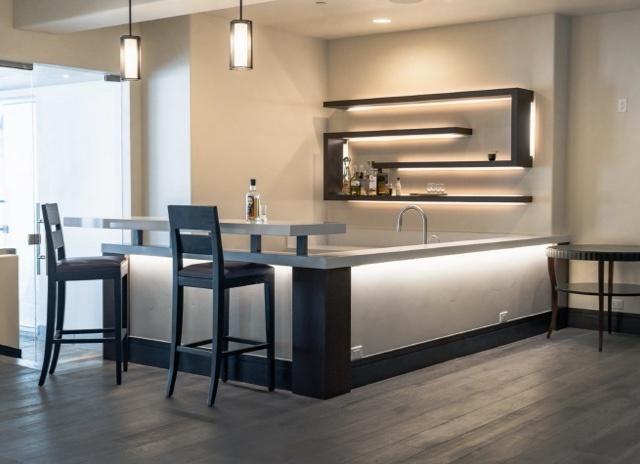 Well lit modern kitchen