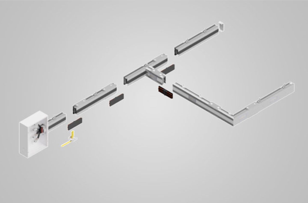 Image showing busway broken into pieces for explanation