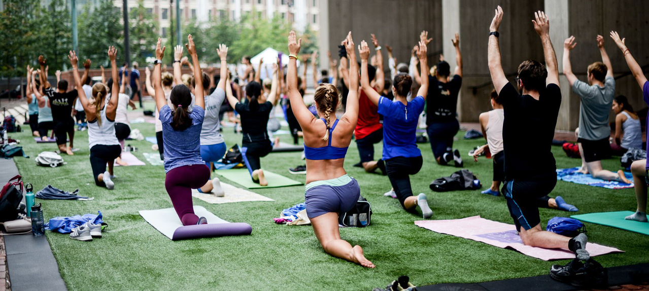Promoting year-round, free fitness classes
