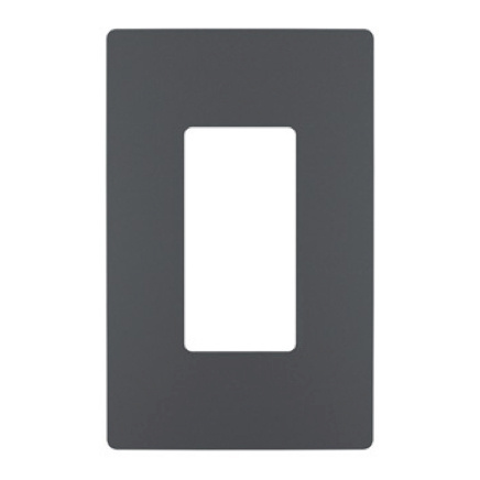 radiant Collection wall plate in graphite