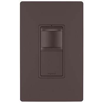120V Single Pole/3-Way Occupancy Sensor, Bi-Color (Dark Bronze, Nickel)
