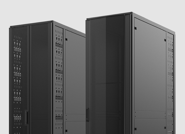 Black legrand cabinets for data centers