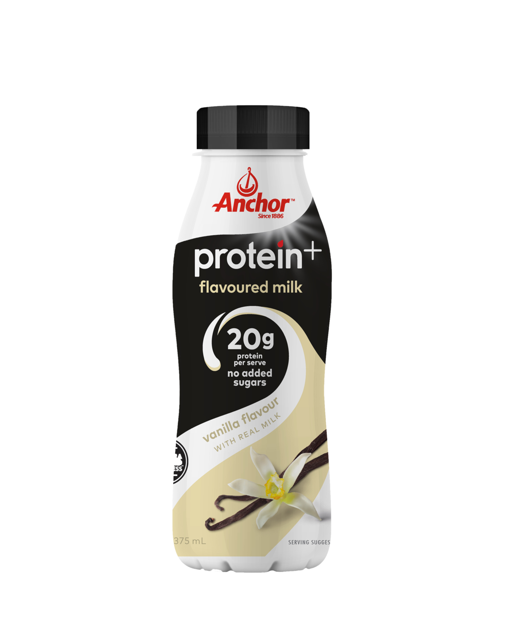 Anchor Protein+  Vanilla Milk 375mL pack
