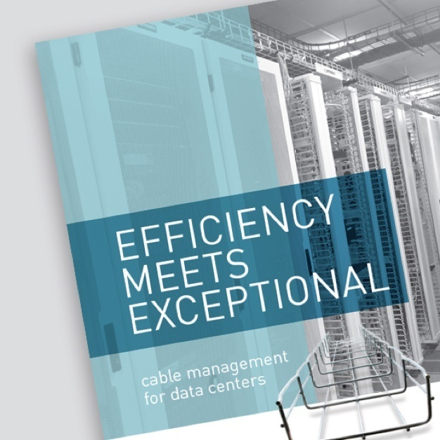 "Image of ""Efficiency Meets Exceptional"" brochure cover"