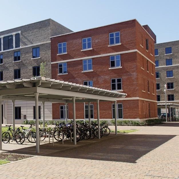 Student dorm building