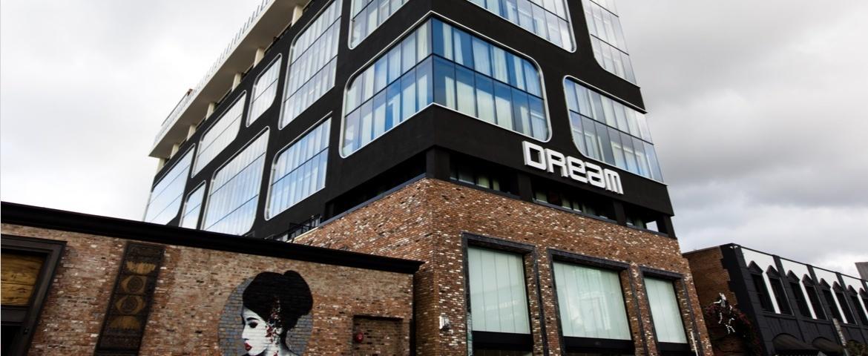 Dream Hotel building exterior